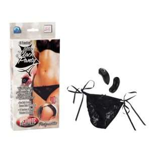 Jack Rabbits Remote Control Little Black Panty - 10 Function