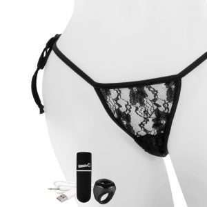 Screaming O My Secret Charged Remote Control Panty – Black