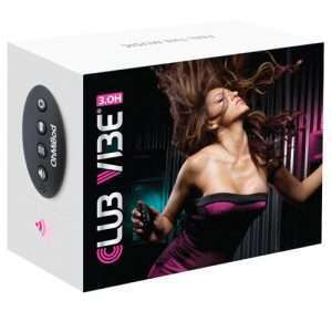 OhMiBod Club Vibe 3.OH - Black/Pink